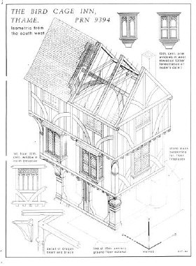 Survey plan of the Birdcage, Thame