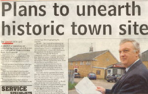 Thame Gazette Article