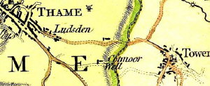 Part of the 1767 Jeffreys map