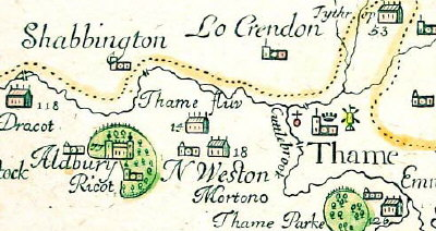 Extract from the 1676 Plot map