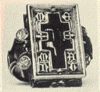 A ring found in the Thame Hoard